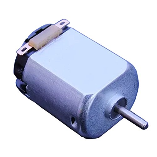 Flormoon Dc Motor Mini Electric Motor 3v 19000rpm Brushed