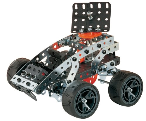 42 Pcs Qubits Stem Construction Toy Kit Review : Erector by meccano super construction set motorized