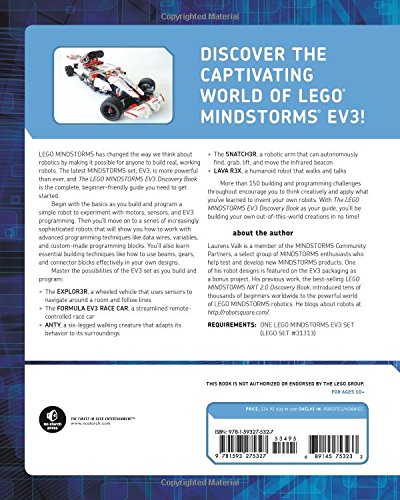 The LEGO MINDSTORMS EV3 Discovery Book: A Beginner's Guide to